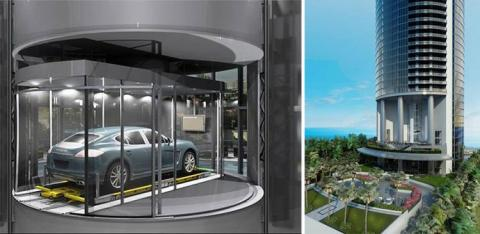 Porsche Design Tower Hires Park One To Operate Parking