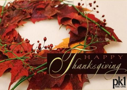 Thanksgiving Message from Park One CEO Bijan Eghtedari