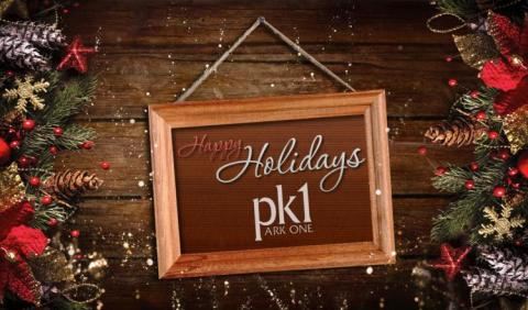 Happy Holidays from Park One