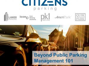 Beyond Public Parking Management 101